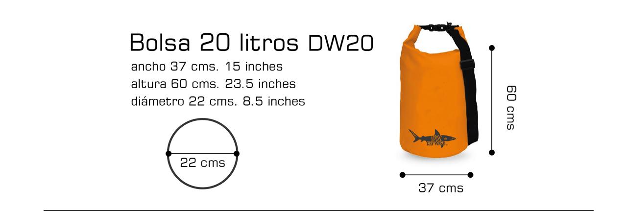 bolsa de 20 Lts